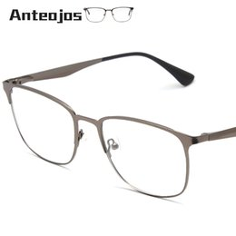 d9f7930d721 China ANTEOJOS Women Men  039 s Eyeglass Frame 2019 Luxury Brand Spring  Hinge Square