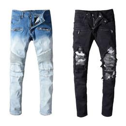 8db46a6a7a Sconto Mens Jeans Leggeri | 2019 Mens Leggeri Jeans Estivi in ...