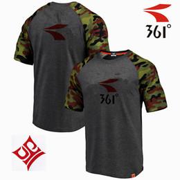 magliette camouflage unisex all'ingrosso Sconti 2018 nuova maglietta da corsa grigio camouflage stracci manica corta produttori all'ingrosso diretto
