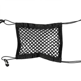bloco de assento Desconto Front Seat Car Block Storage Net bolso Universal Duplo Storage Bag Net