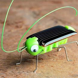 2019 großhandel solargarten neuheiten Lustig! Neue Ankunft Solar Grasshopper Modell Solar Spielzeug Kinder außerhalb Spielzeug Kinder pädagogisches Spielzeug Geschenke Augmented Reality Kinder Spielzeug B11
