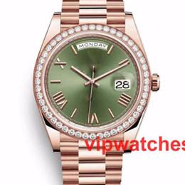 2019 bracelets en diamant à vendre Nouvelle vente chaude diamant mécanique automatique Mens Rose Montre en or Reloj montre-bracelet montres-bracelets bracelets en diamant à vendre pas cher