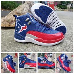 Canada Nouveau 11s 12s Chaussures de Basketball 2019 Jumpman Champion Bleu Red Bullhead Sports Designer Sneakers taille 7-13 Offre