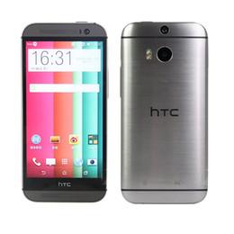 telefon 4.4 Rabatt Refurbished HTC One M8 2 GB RAM 32 GB ROM Quad Core Android 4.4 WIFI GPS 5 Zoll 3G WCDMA Telefon Versiegelter Kasten Optional
