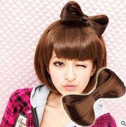 Bowknot perücke online-Heißer Verkauf DIY Europäischen Stil Perücke Bowknot Clips Schellen ENTE CLIP Multi Colore Haarnadeln Haarpflege Styling Werkzeuge HA060