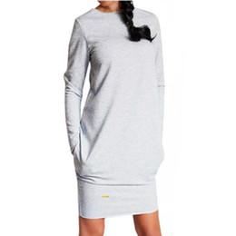 Lápiz cóctel noche vestidos de fiesta online-2020 nuevo de las mujeres de Bodycon del partido de tarde de manga larga Cocktail Club Mini vestido corto del lápiz