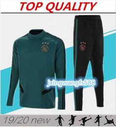 chaquetas de fútbol de calidad Rebajas Traje de entrenamiento de alta calidad 2019 2020 Ajax FC Soccer Jerseys 18 19 20 maillots de football Chaquetas de chándal de fútbol HUNTELAAR TADIC