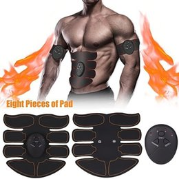 abdominal exercise equipment fitness Promo Codes - New Abdominal Muscle Trainer Fitness EMS Sport Press Stimulator Gym Equipment Training Apparatus Home Electric Exercises Machine
