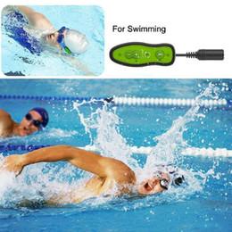 2019 usb-flash-laufwerk lautsprecher-player Mew Mini Schwimmen MP3 Player Sport Musik 4GB MP3 Tauchen Unterwasser wasserdicht IPX8 Music Player + Earphonehone