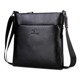 9f863eb948a0e 2019 Yeni Varış En kaliteli deri Kanguru erkek messenger çanta Marka omuz  çantası moda erkek için crossbody Çanta supplier kangaroo shoulder bags