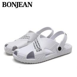 New Men Sandals Summer Flip Flops Slippers Men Outdoor Beach Air Cushion Clogs Cheap Male Sandals Water Shoes Sandalia Masculina