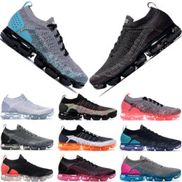 sneaker hot Promo Codes - Best Quality Random Yarn Knit 2.0 Sneakers Mens Womens Black White Dusty Cactus Hyper Jade Black Hot Punch Designer Shoes Size5.5-11