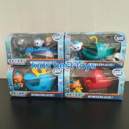 capitão cracas Desconto Octonauts Brinquedos Veículos Barco Navio Gup-a B C F Brinquedos Capitão Cracas Kwazii Crianças Melhor Presente Y190604