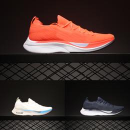 Volano originale online-2019 vaporfly marathon fly running Scarpe da donna traspiranti uomo in maglia 4% sneakers da designer originali taglia 36-45