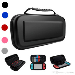 carry bags Promo Codes - Portable Carrying Protect Travel Hard EVA Bag Console Game Pouch Protective Carry Case For Nintendo Switch Shell Box Switch High Quality New