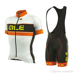 6xl cycling jerseys Coupons - High quality ALE 2019 Men short sleeve Cycling jersey bib shorts set triathlon MTB bicycle clothes