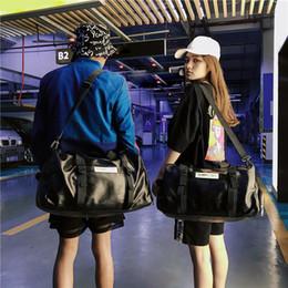 Borsetta del compartimento delle signore online-Borsa da allenamento sportiva Donna Uomo Borsa da palestra Fitness Scarpa in pelle Scomparto Ladies Girls Small Large Travel Tenis Handbag for School