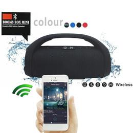 usb lautsprecher puppe Rabatt Großhandel Professionelle IPX7 Tragbare Wasserdichte Outdoor HIFI Spalte Drahtlose Bluetooth Lautsprecher Subwoofer Sound Box Unterstützung FM Radio TF Mp3