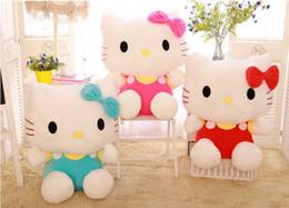 scooby doo juguetes Rebajas muñecas 20cm juguetes de peluche de alta calidad relleno para niñas niños juguetes de peluche de juguete de regalo de Hello Kitty muñeca linda del regalo de cumpleaños del gato
