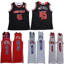 xx xxl Desconto NCAA, Arizona, Wildcats, 13, Deandre, Ayton, jérsei, faculdade, basquetebol Louisville, cardeais, 45, Donovan, universidade, homem, tamanho, S, a, XX