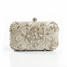 42efc9ca7a wedding shell clutch bag 2019 - Luxury Women Evening Bags Fashion Pearl  Beaded Diamond Women Evening