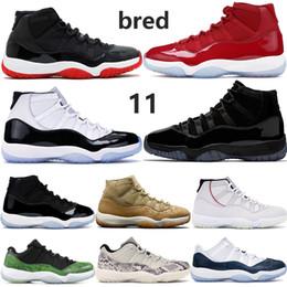 Jumpman allevato 11 11s mens scarpe da basket Concord 45 cappello e abito vittoria come 96 dell osso del serpente di luce uomini donne scarpe da
