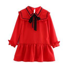 2019 saia de peixe ruffles Primavera roupas infantis new 2019 hot boutique meninas temperamento ruffled bebê feminino fishtail vestido de saia saia de peixe ruffles barato