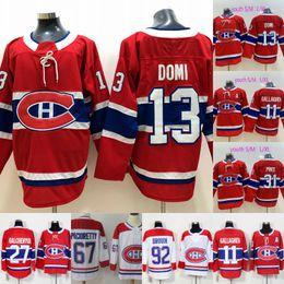 363f4946c  13 Max Domi Montreal Canadiens Jersey 6 Shea Weber 27 Alex Galchenyuk 31  Carey Price 76 P.K. Subban 92 Jonathan Drouin Hockey Jerseys