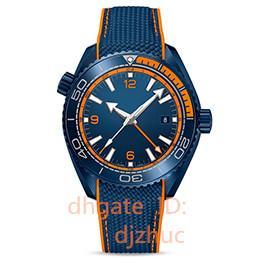 Керамические ремешки для часов онлайн-роскошные мужские часы автоматические часы супер светящиеся наручные часы из нержавеющей стали резиновый ремешок керамическое кольцо роскошные мужские часы orologio di lusso
