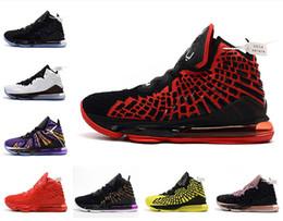 Scarpe da uomo lebron di basket online-Di alta qualità più recenti ceneri fantasma Lebron 17 scarpe da basket arrivo sneakers 17 s uomo casual 17 s King James scarpe sportive LBJ US5,5-12