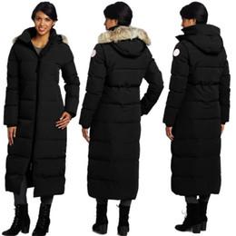 Discount men goose down ski jackets - 18FW Women Outdoor Warm Long Coat  Climbing Skiing Cold 6c3b4b6bd