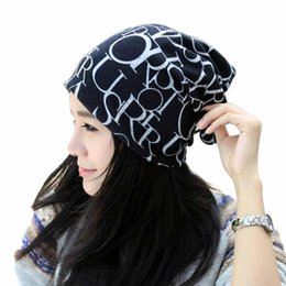 универсальная шляпа Скидка JAYCOSIN 2018 Classic Fashion Hats Caps Women Hip-Hop English Letter Multi Purpose Baggy Hat Scarf Bean j16