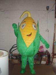 2019 disfraz de maiz Personalizado maíz personalizado traje de la mascota personaje maíz Mascota Ropa Navidad Fiesta de Halloween Vestido de lujo rebajas disfraz de maiz