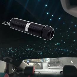 Canada Kit de garniture de pavillon de fibre de RVB 300 à 400 torons de commande vocale 6W LED de lumière à fibres optiques pour la voiture Offre