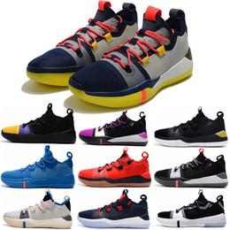 scarpe da basket arancione kobe Sconti 2019 New Kobe AD EP Mamba Day Sail Wolf Grigio Arancione Multicolor Scarpe da pallacanestro per uomo di qualità Sneakers sportive Sneakers taglia 40-46
