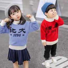 pulôveres rapazes Desconto Estilo formal outono inverno crianças meninos meninas camisolas projeto pulôver de malha casual da criança meninas top lã de lã camisola criança