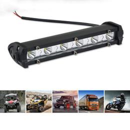 2019 36w de trabajo 12-24V Car Led Luz de trabajo 36W 14inch Blanco 8 LED Luz de advertencia Spot Beams faro para Offroad 4WD SUV Driving Fog Lamp rebajas 36w de trabajo