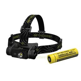 2019 ultrafire q5 mini zoomable taschenlampe NITECORE HC60 HC60W Scheinwerfer CREE XML2 U2 1000LM Scheinwerfer Wasserdichte Taschenlampe
