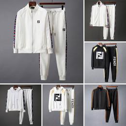 2019 nouvelle marque designer mens survêtement Automne Hiver Survêtements Hommes lettre imprimer broderie casual hommes sport joggers costume ? partir de fabricateur