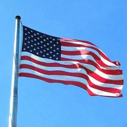 2019 banderas de banderas al aire libre Banderas de EE. UU. Bandera de EE. UU. Banderas de banner de oficina de jardín de EE. UU. Banderas de 3x5 pies Bannner de calidad Estrellas Rayas Poliéster Bandera resistente Gadgets para exteriores ZZA1133 banderas de banderas al aire libre baratos
