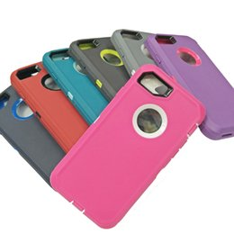 Estuche para iPhone X XR XS Max 6 6s 8 7 Plus Estuche a prueba de agua a prueba de choques híbrido Defender para Samsung Note 8 S9 S10 Plus con bolsa de clip opps DHL desde fabricantes
