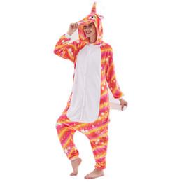 Winter Flannel Unisex Home Wear Adult Kigurumi Onesie Cartoon Animal Pajamas  Pijama Women Men Anime Cosplay Costume 053753fa1