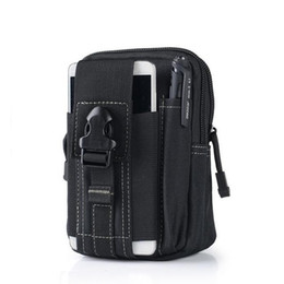 poche à outils molle Promotion Chasse Molle Poche sac Ceinture Chasse outil de stockage Packs Pocket Hunter Taille militaire Sac banane Poche # 848021