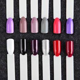 ROSALIND Gel Nail Set polonais pour les ongles 7ml UV Couleurs pures Set Art Nails Semi Permanent pour Set Manucure Gel Vernis 12PCS / LOT ? partir de fabricateur
