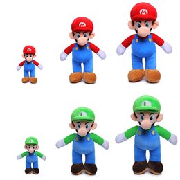 mushroom anime Coupons - 25cm 35CM 40CM Super Mario Mushroom plush toys Doll doll Super Mario plush toys 2 style choices children's good Animals Plush toys C23