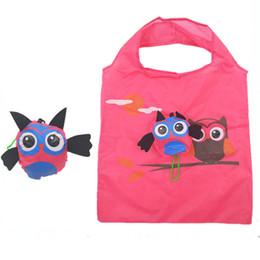 Canada Sac souple de sac à main de cadeau mou d'animal de bande dessinée portative réutilisable de voyage avec la poignée facile se pliant d'emballage écologique cheap eco friendly reusable folding bag Offre