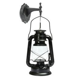 старинные наружные светильники Скидка ICOCO E27 Vintage Lantern Wall Mounted Antique Lamp Sconce Light Energy Saving For Bar Corridor Outdoor Garden Backyard Lamp