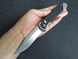 2019 cuchillos pequeños karambit 2018 Cuchillo táctico SOG Cuchilla automática Cuchillo plegable portátil táctico al aire libre 8Cr13move 59HRC G10 Manija de camping