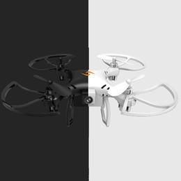 2019 alarme chave de tampa Controlo a distância do giroscópio do modo decapitado 2.4Ghz com o mini zangão Quadcopter da luz do diodo emissor de luz