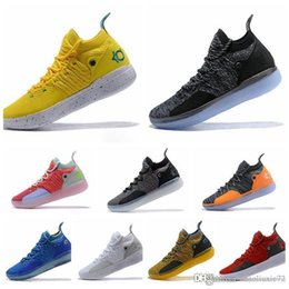 zapatillas kevin durant para hombre Rebajas Nike KD 11 zapatos de diseño KD 11 Zapatillas de baloncesto Kevin Durant Zoom para hombre Zapatillas deportivas fuera de línea Zapatillas de deporte blancas de lujo KD EP Elite Low